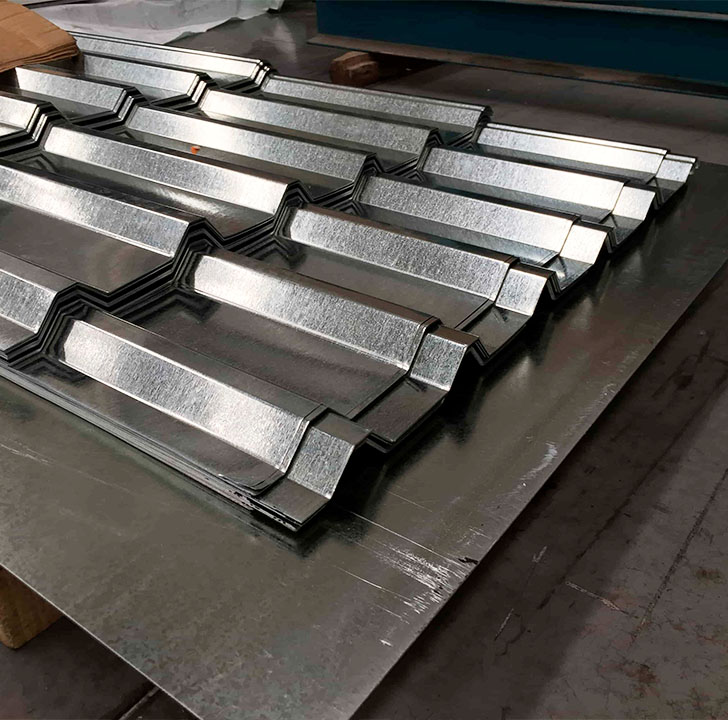 lamina de acero galvanizada