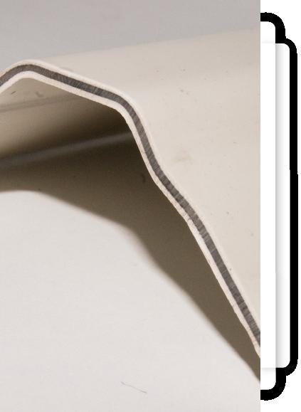 Lamina tricapa de PVC