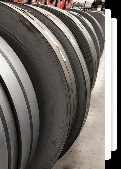 fabricantes de cinta de acero