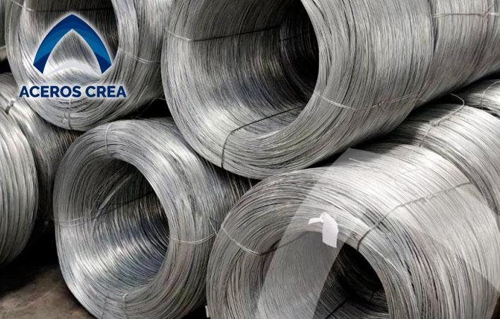 Venta de rollos de alambre galvanizado