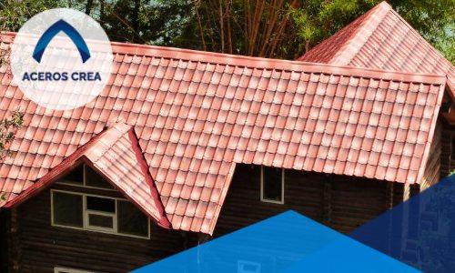 La lámina tipo teja es un producto confiable y más durable que cualquier clase de teja convencional de materiales blandos.